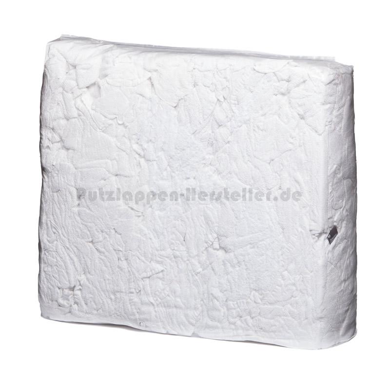 Ein Pack Putzlappen der Sorte Frottee Weiß