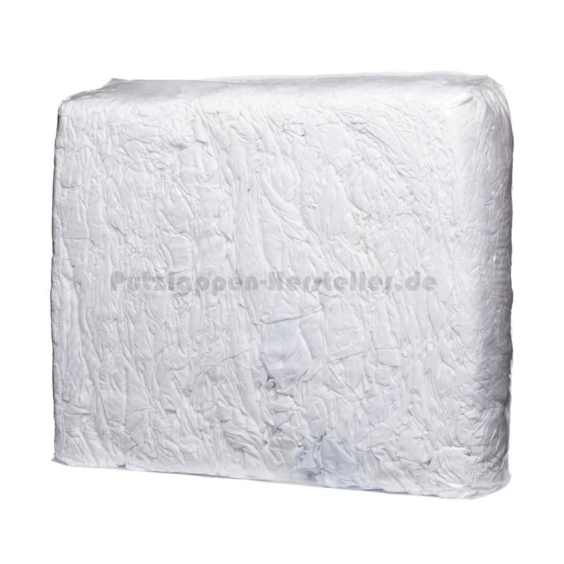 Putzlappen Bettwäsche Weiß